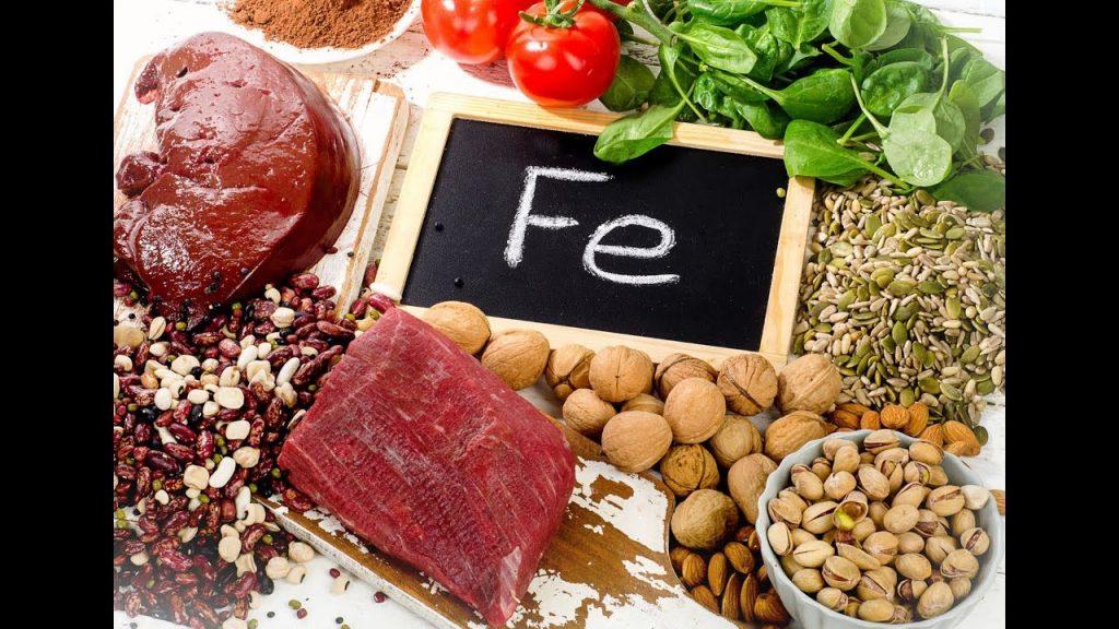 Zone de Texte: La plupart des aliments contiennent du fer mais ce fer, selon sa forme, n'est pas assimilé de la même façon :